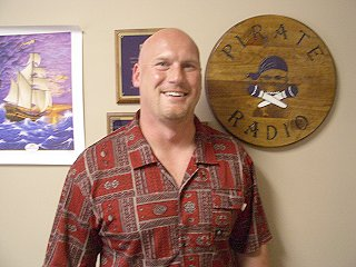 Greg Hudson with ECU ... photo credit Pirate Radio 1250